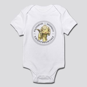 Year of the Dog [Tan & Gray] Infant Bodysuit